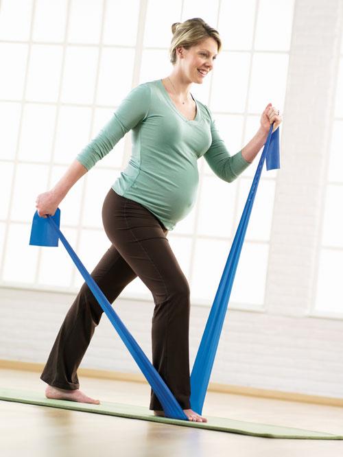Как заниматься фитнесом при беременности